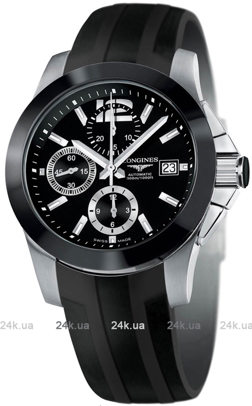Наручные часы Longines Conquest Chronograph L3.661.4.56.2