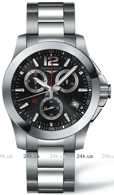 Наручные часы Longines Conquest Chronograph L3.700.4.56.6