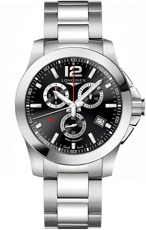 Наручные часы Longines Conquest Chronograph L3.800.4.56.6