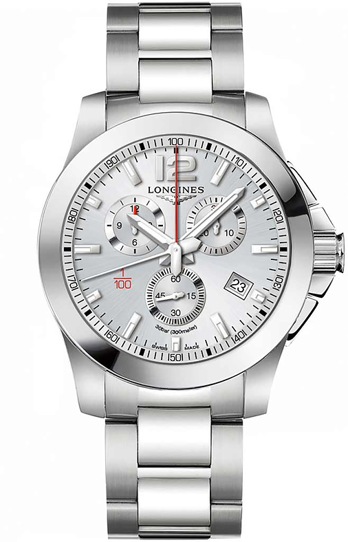 Наручные часы Longines Conquest Chronograph L3.800.4.76.6
