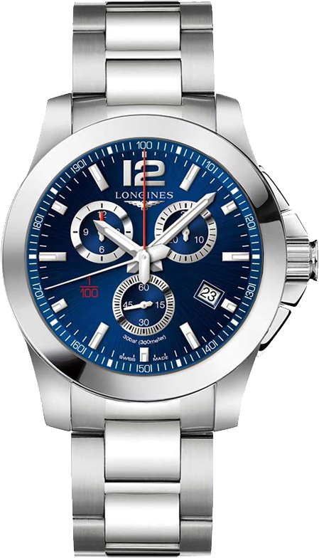 Наручные часы Longines Conquest Chronograph L3.800.4.96.6