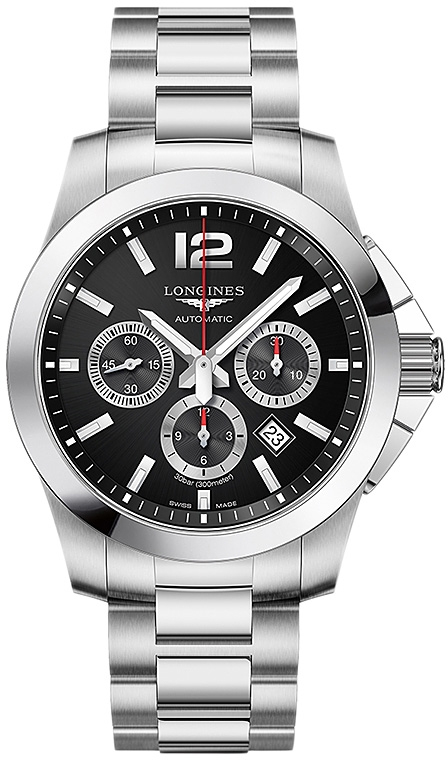 Наручные часы Longines Conquest Chronograph L3.801.4.56.6