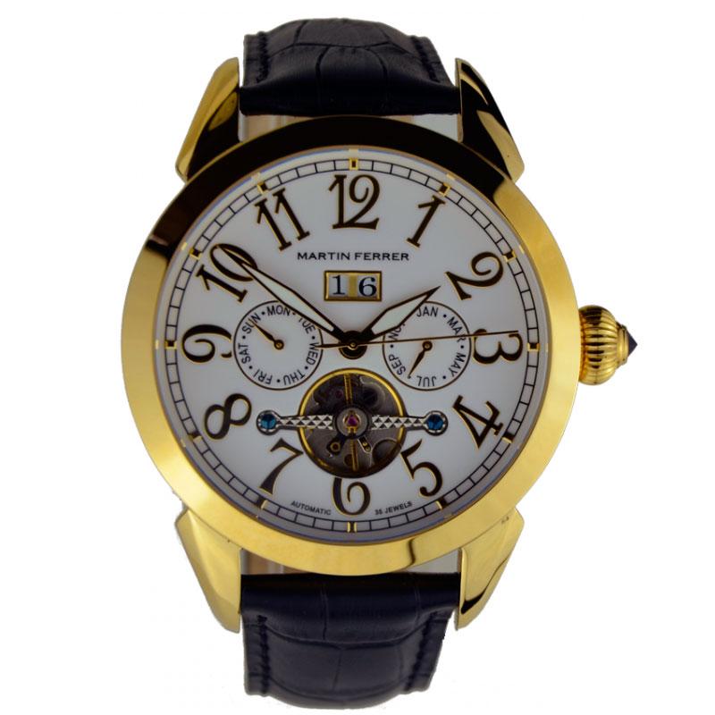Наручные часы Martin Ferrer Automatic 131 13191A/G (черн.рем)