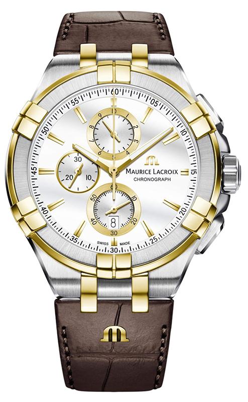 Наручные часы Maurice Lacroix Aikon Chronograph AI1018-PVY11-132-1