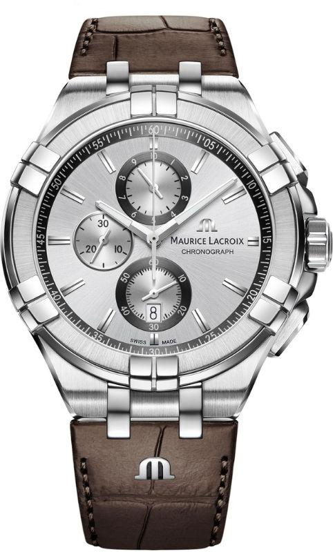 Наручные часы Maurice Lacroix Aikon Chronograph AI1018-SS001-130-1