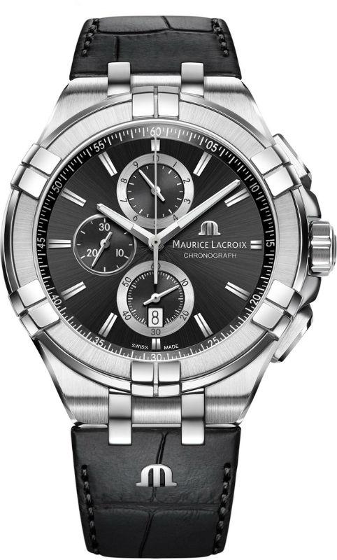 Наручные часы Maurice Lacroix Aikon Chronograph AI1018-SS001-330-1