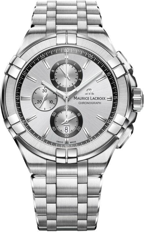 Наручные часы Maurice Lacroix Aikon Chronograph AI1018-SS002-130-1