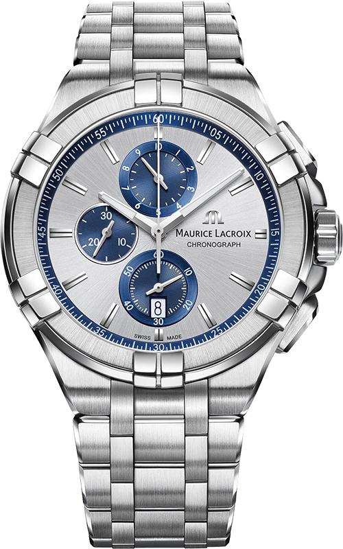 Наручные часы Maurice Lacroix Aikon Chronograph AI1018-SS002-131-1