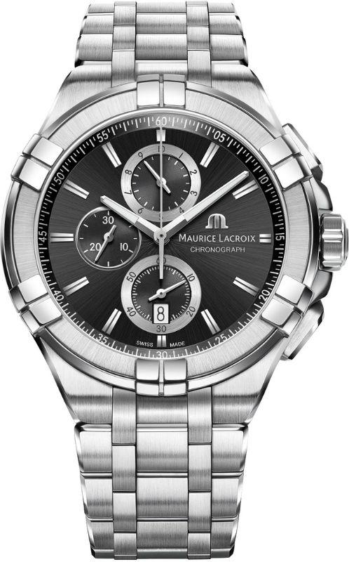 Наручные часы Maurice Lacroix Aikon Chronograph AI1018-SS002-330-1