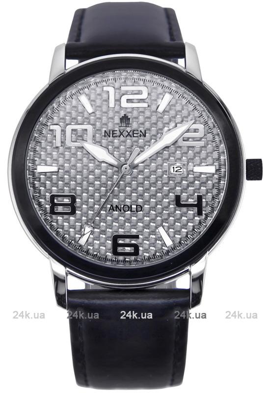 Наручные часы Nexxen Anold 12803 NE12803M PNP/BLK/WHT/BLK