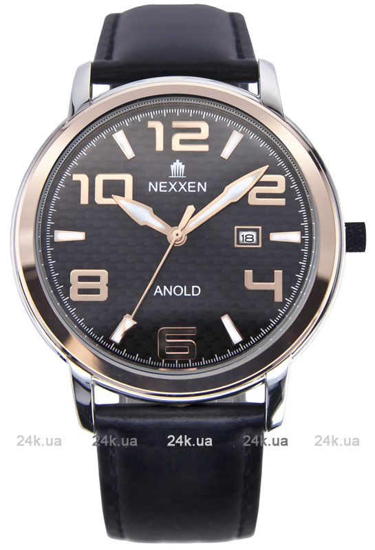 Наручные часы Nexxen Anold 12803 NE12803M PNP/RG/BLK/BLK