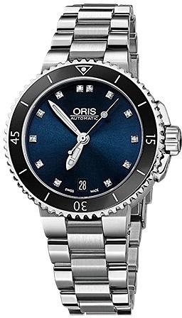Наручные часы Oris Aquis Date Diamonds 733.7652.4195MB