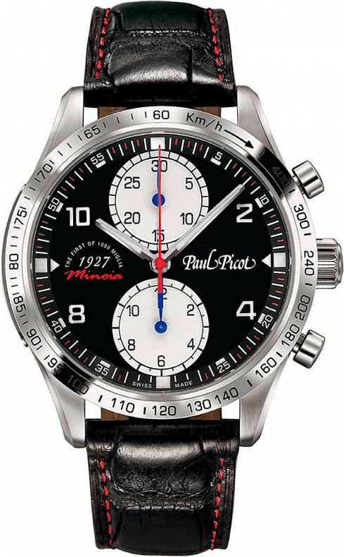 Наручные часы Paul Picot Chrono Minoja 1927 L.E. P2127.SG.1022.3201.MINOIA
