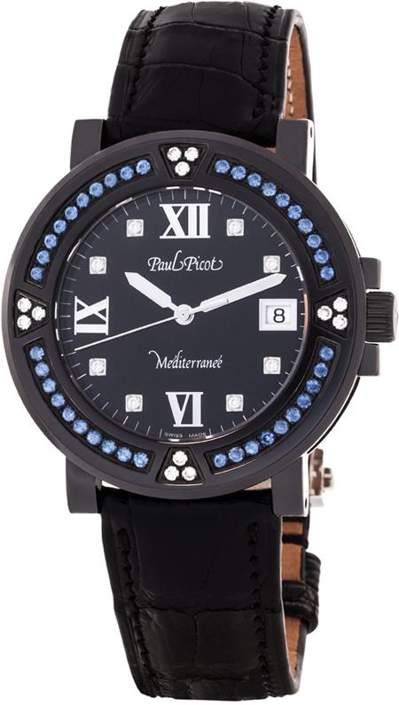 Наручные часы Paul Picot Mediteranee 40 mm P4106N.20D12.SBA40.3D1CY001