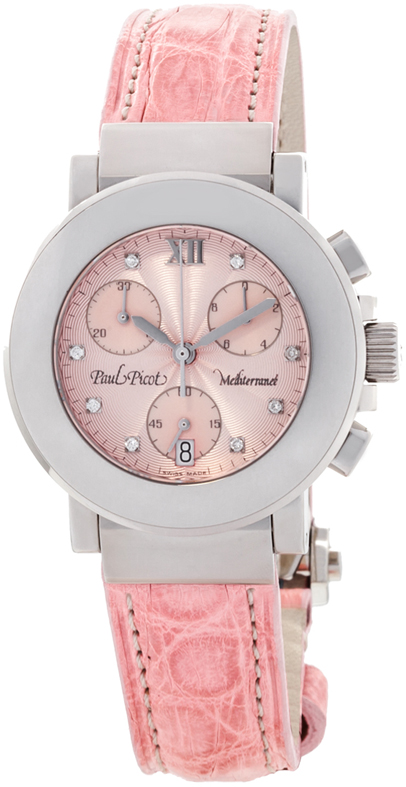 Наручные часы Paul Picot Mediterranee Chrono 36mm P4107.20.5D1CY043