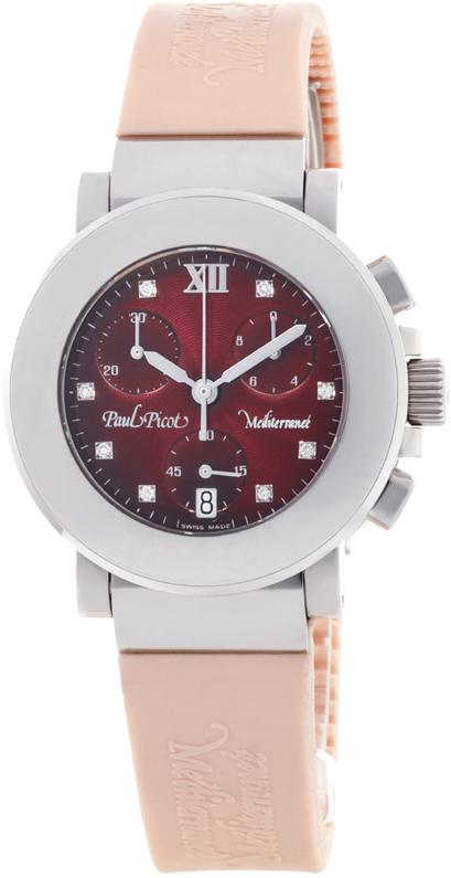 Наручные часы Paul Picot Mediterranee Chrono 36mm P4107.20.5D2CM021