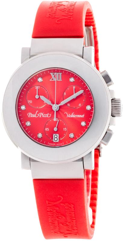 Наручные часы Paul Picot Mediterranee Chrono 36mm P4107.20.9D1CM042