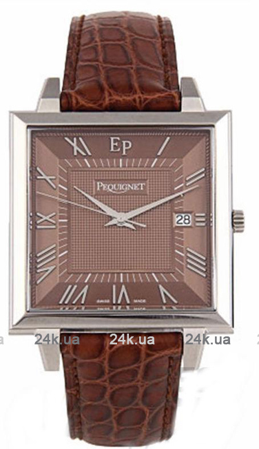 Наручные часы Pequignet Moorea Classiques Square Pq7240453cg