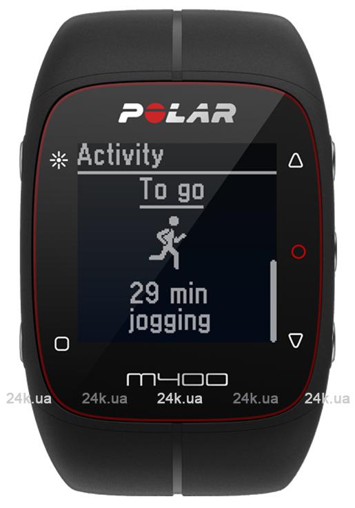 Спортивные часы Polar Бег M400 BLK