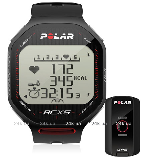 Спортивные часы Polar Бег RCX5 G5 (черный)