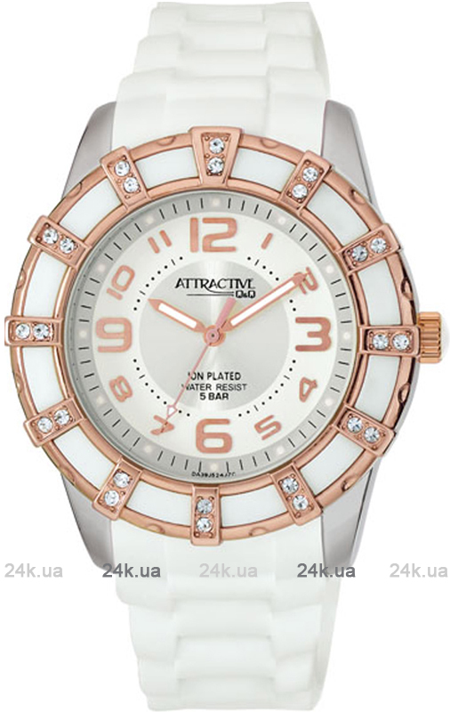 Наручные часы Q&Q Attractive DA39 DA39J524Y