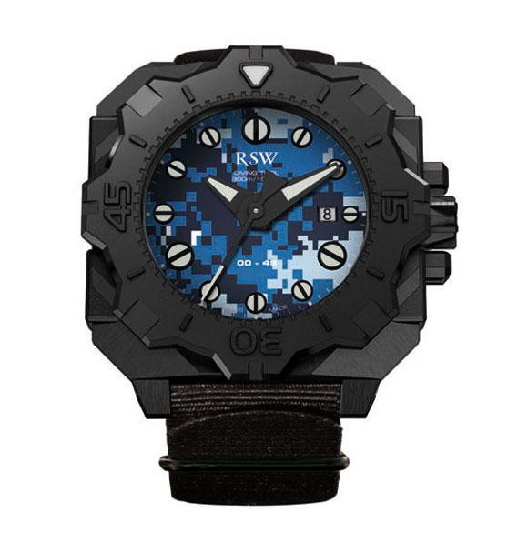 Наручные часы RSW Diving Tool Camo 7050.1.R1.35.00