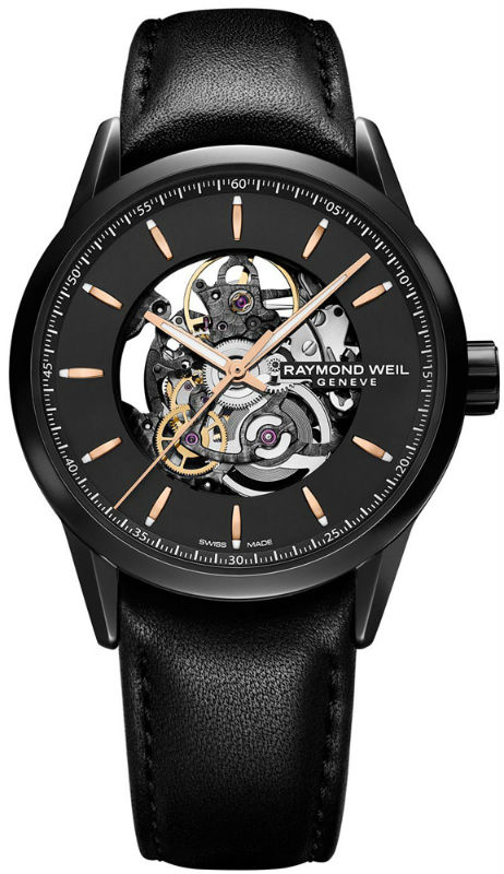 Наручные часы Raymond Weil Freelancer Automatic Skeleton 2715-BKC-20021