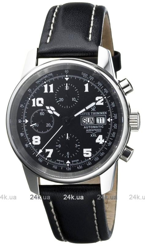 Наручные часы Revue Thommen Airspeed Aviator XXL Chronograph 16051.6587