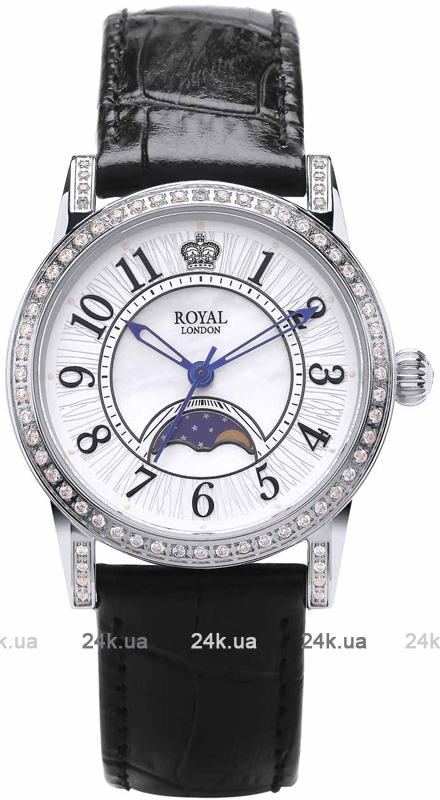 Наручные часы Royal London Moonpase Watch 21302-01