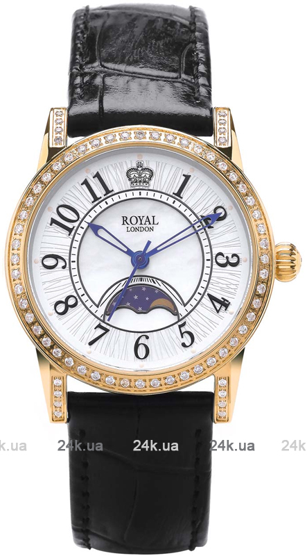 Наручные часы Royal London Moonpase Watch 21302-03