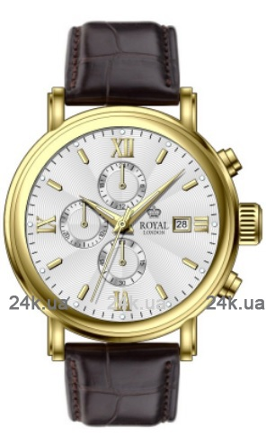 Наручные часы Royal London Classic Chronograph 35 41205-04