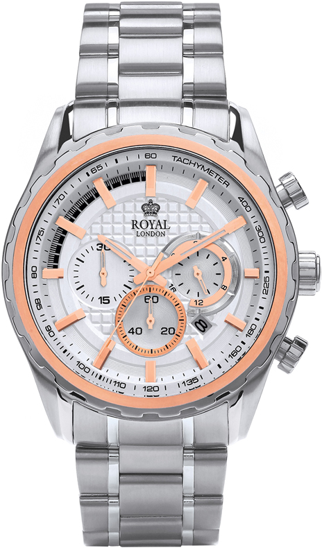 Наручные часы Royal London Sports Chronograph Watch 41323-06