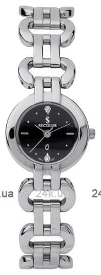 Наручные часы Seculus 1598 1598.1.763 black, ss