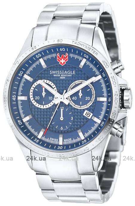 Наручные часы Swiss Eagle Corporal Chrono SE-9034-33