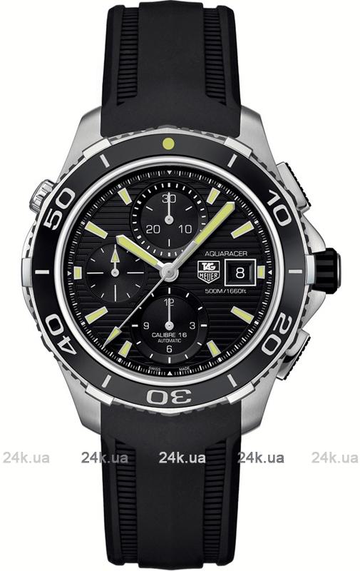 Наручные часы Tag Heuer Aquaracer Calibre 16 Automatic Chronograph CAK2111.FT8019