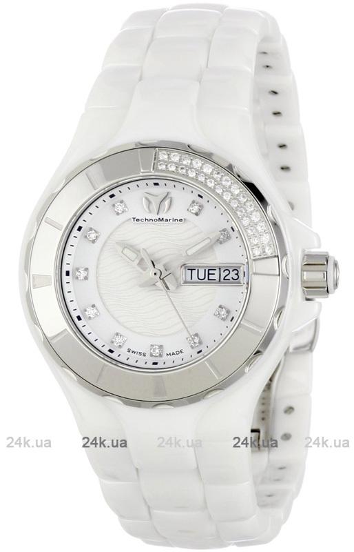 Наручные часы TechnoMarine Ceramic Monochrome Day Date 110023C