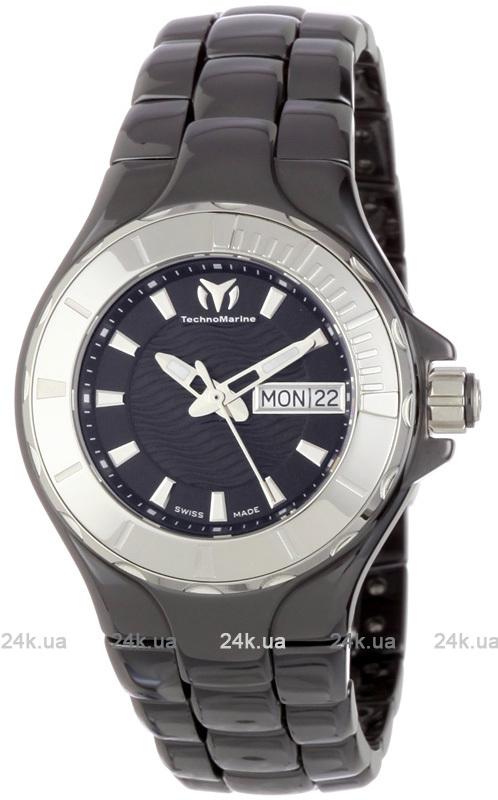 Наручные часы TechnoMarine Ceramic Monochrome Day Date 110026C