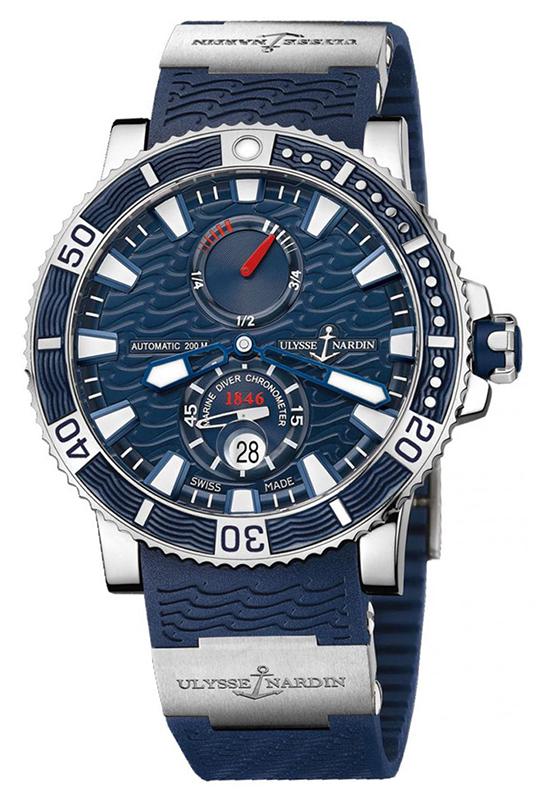 Наручные часы Ulysse Nardin Marine Diver Titanium 263-90-3/93
