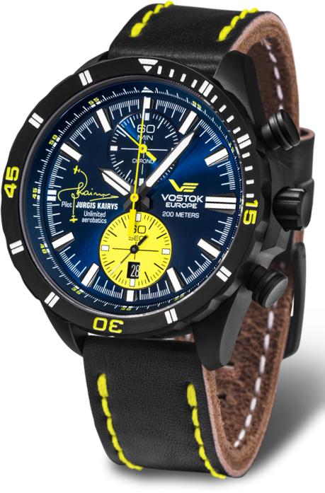 Наручные часы Vostok Europe Almaz Jurgis Kairys 6S11-320J362
