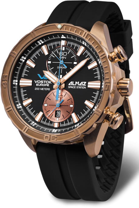 Наручные часы Vostok Europe Almaz Space Station Chrono 6S11-320O266S
