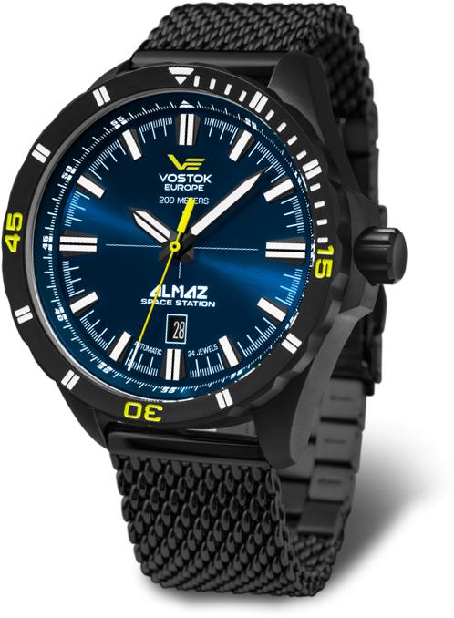 Наручные часы Vostok Europe Almaz Space Station Automatic NH35-320C257B