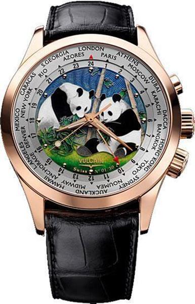 Наручные часы Vulcain Cloisonne The World 100508.189L/BK