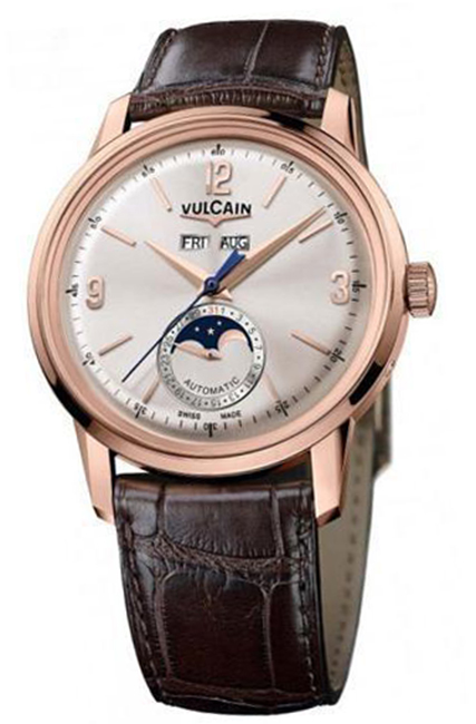 Наручные часы Vulcain 50s Presidents Moonphase Auto 580558.330L/BN