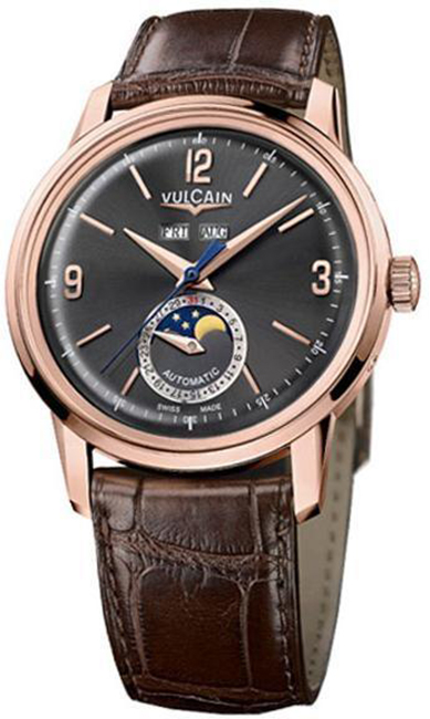 Наручные часы Vulcain 50s Presidents Moonphase Auto 580558.331L/BK