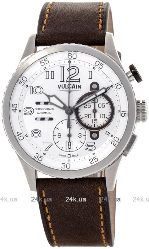 Наручные часы Vulcain Aviator Instrument Chronograph 590163A27.BFC002