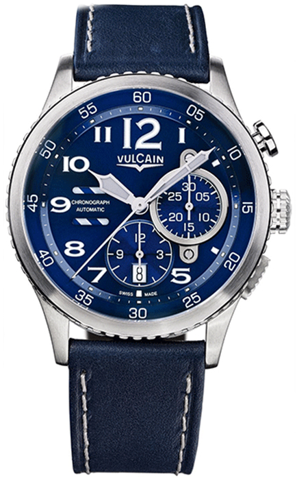 Наручные часы Vulcain Aviator Instrument 590163A37.BFC010