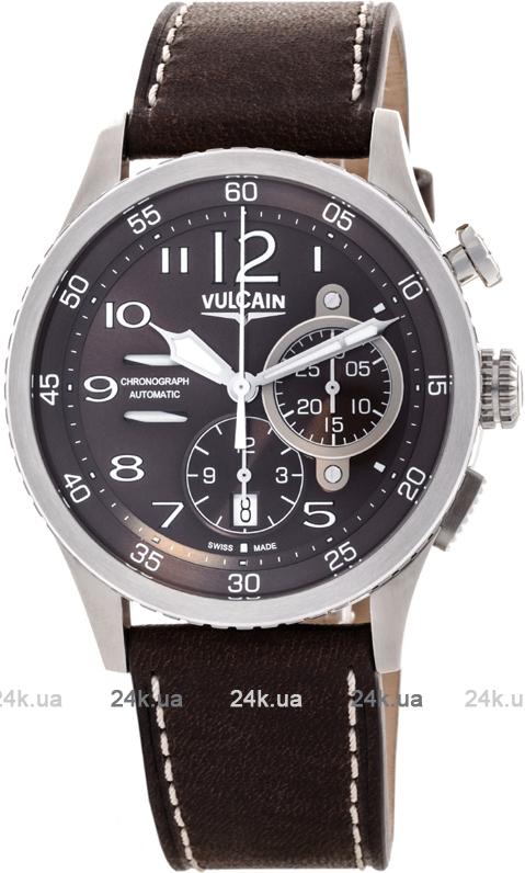 Наручные часы Vulcain Aviator Instrument Chronograph 590163A47.BFC008