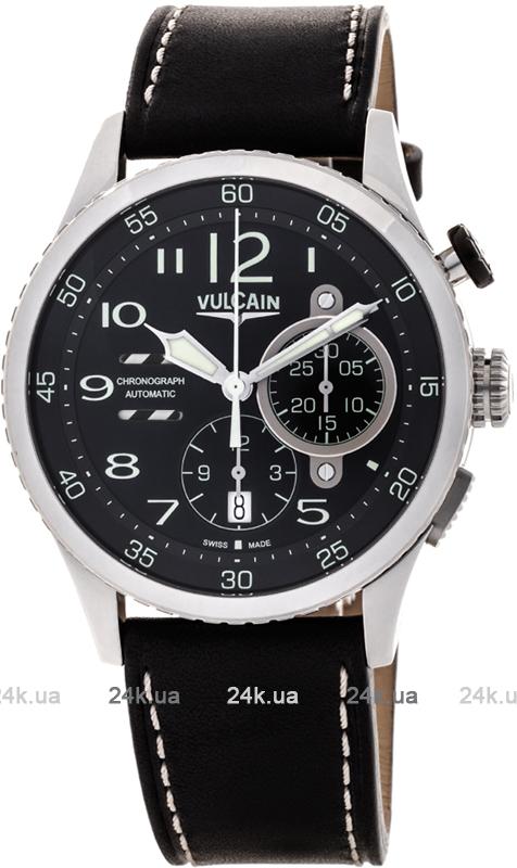 Наручные часы Vulcain Aviator Instrument Chronograph 590263A07.BFC002