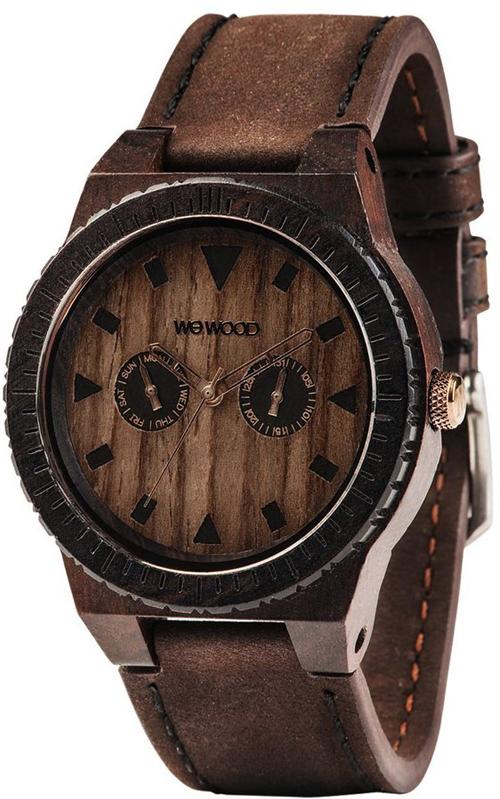 Наручные часы WeWood LEO Leo Leather Chocolate