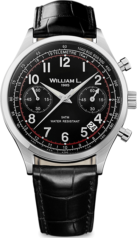 Наручные часы William L Vintage Style Chronograph WLAC01NRCN